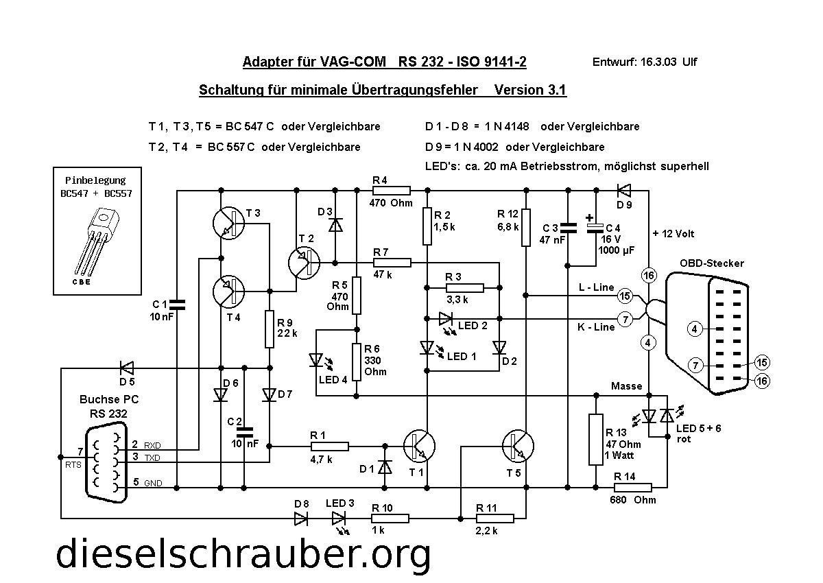 Wunderbar Auto Schaltplan Software Ideen - Elektrische Schaltplan ...